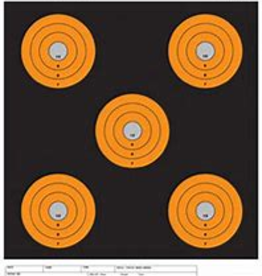 Champion Shotkeeper Target 5-Bulls Orange 100 Yards Pistol/Rifle