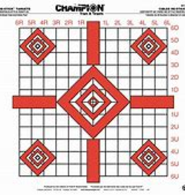 Champion Re-Stick Targets 25-Sheet Peel-And-Stick Pad