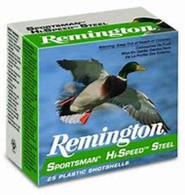 "Remington Sportsman Hi-Speed Steel 12Ga 3 1/2"" 2 Shot 1 3/8oz"