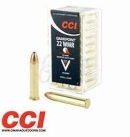 CCI GAMEPOINT 22WMR 40 GR SOFT POINT