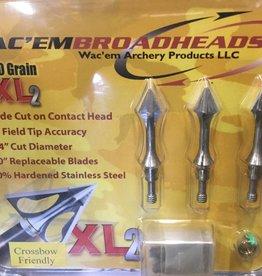Wac'em Archery Products XL2 100 GR