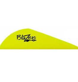 "Bohning Archery Blazers 2"" Neon Yellow 100 Pk"