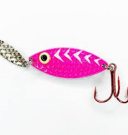 PK Lures Rattling Spoon 3/8 oz Pink