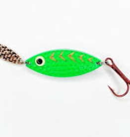 PK Lures Rattling Spoon 1/4 oz Green