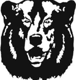 Window Decal Bear Head