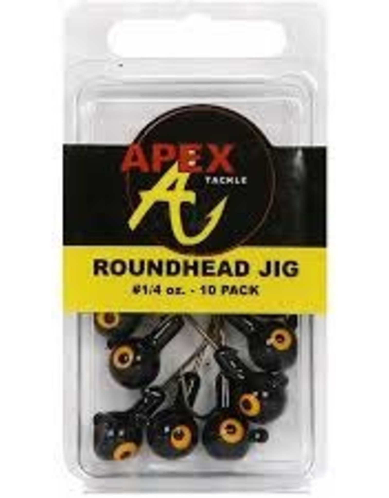 Apex Tackle Apex Tackle 20 Pk Round Jig Head
