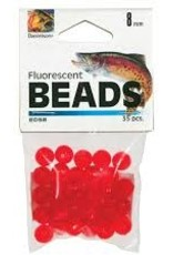 Angler Tackle Florescent Red Salmon Beads