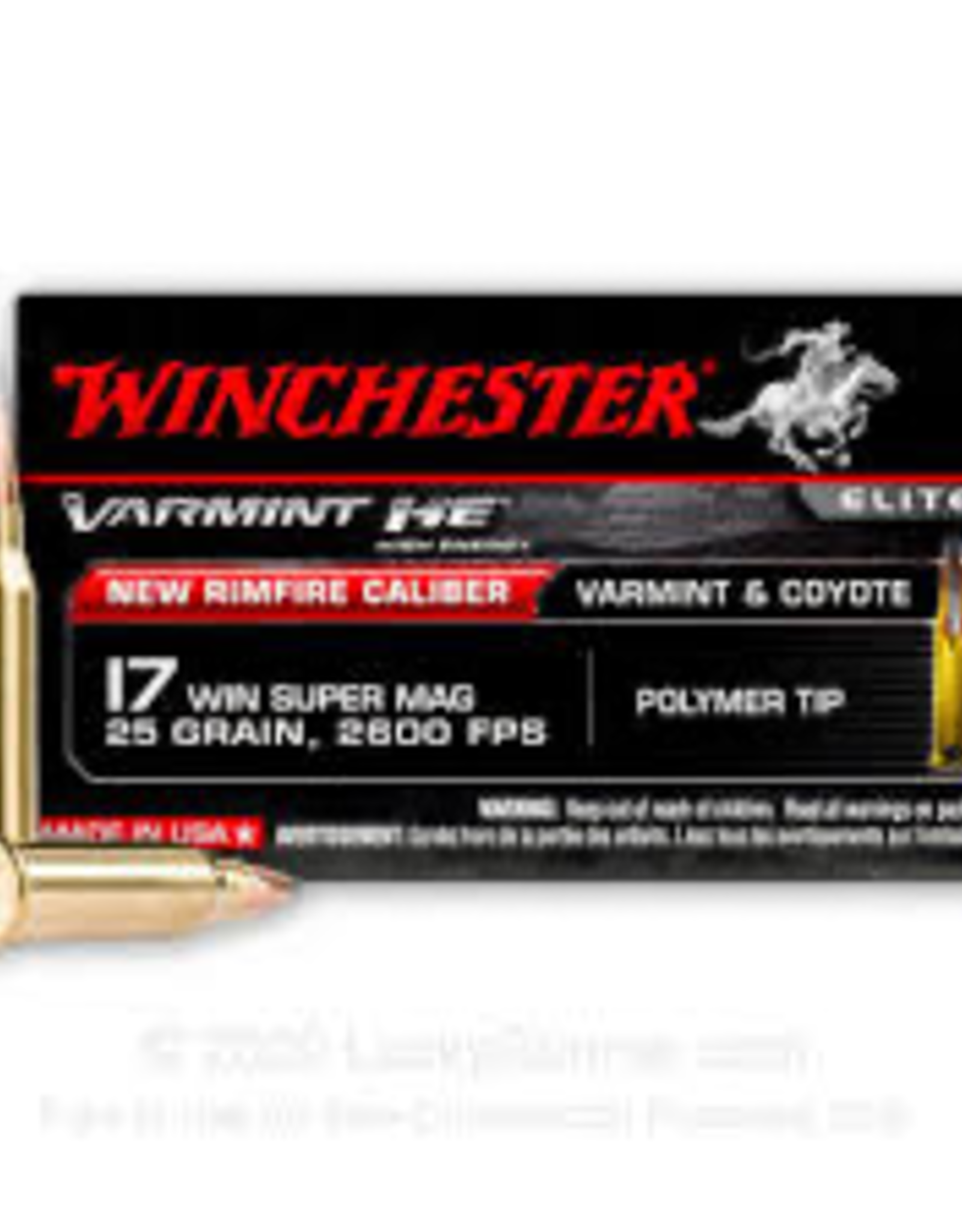 Winchester 17 WSM 25 GR 2600 FPS