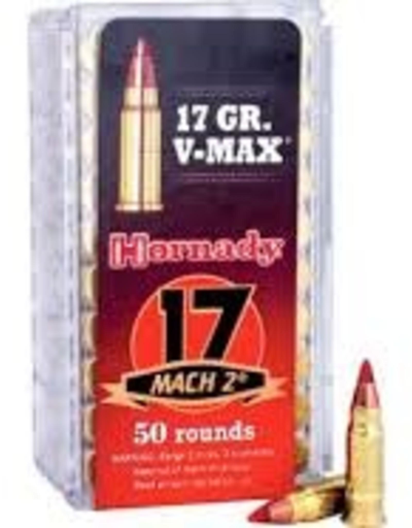 Hornady 17 GR V-MAX 17 MACH 2