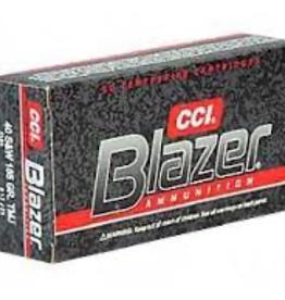 CCI BLAZER 40 S&W 165 GR FMJ