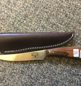 RAPID RIVER CUSTOM KNIFE W/LEATHER
