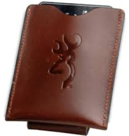Browning BROWN LEATHER FRONT POCKET WALLET
