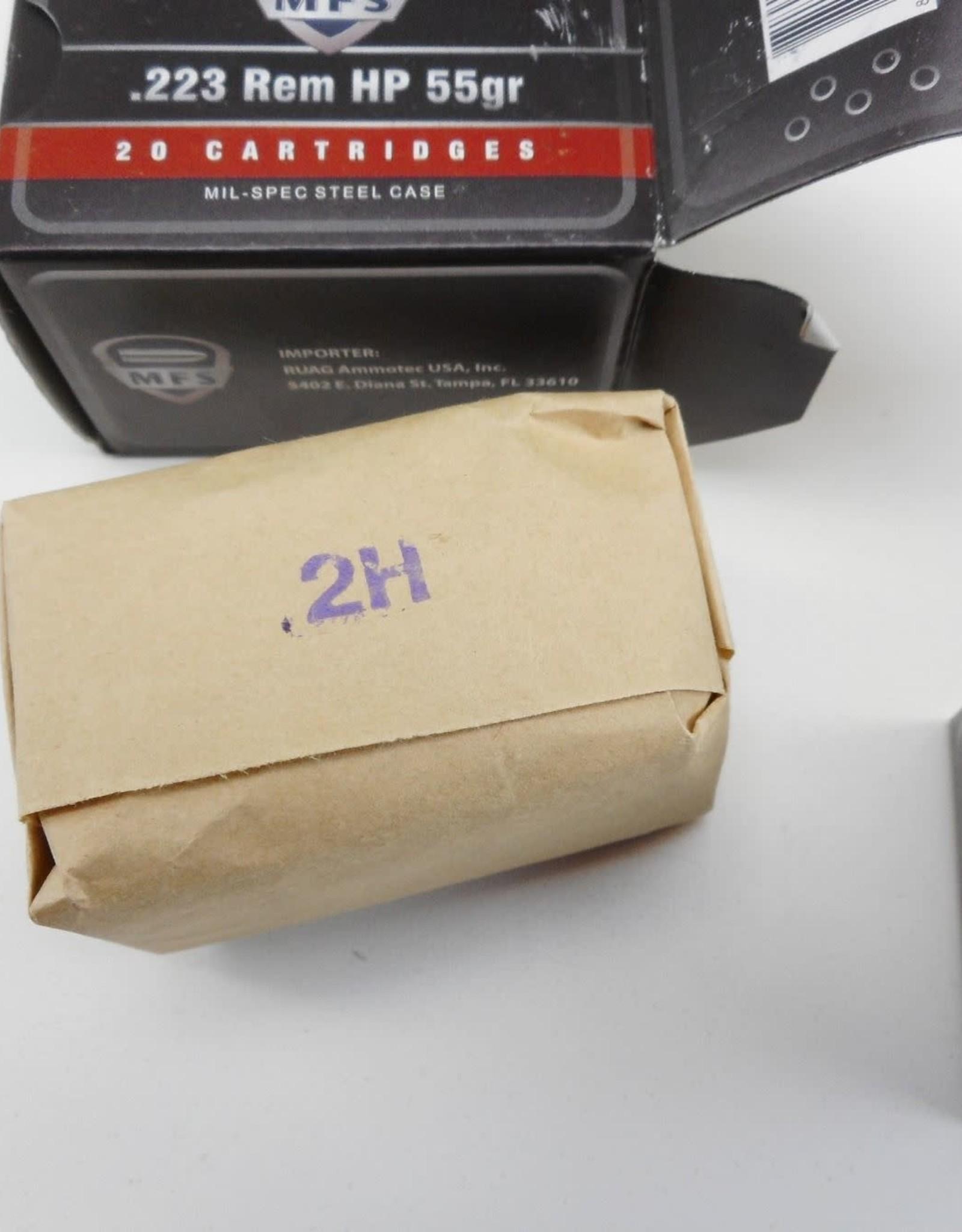 MFS .223 Rem HP 55 GR