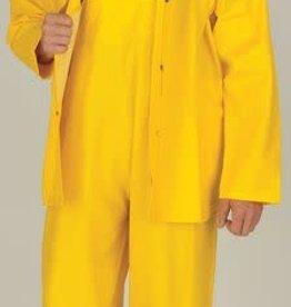 Open Road 100% Waterproof 3-Piece Rainsuit Yellow Small