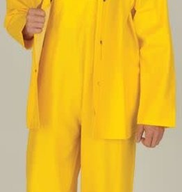 Open Road 100% Waterproof 3-Piece Rainsuit Yellow XLarge
