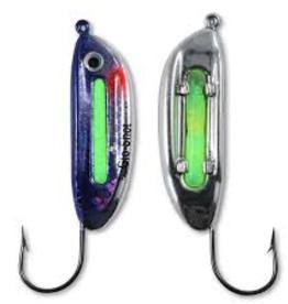 Northland Fishing Tackle Glo-Shot Jig 3/8oz Metalic Silver