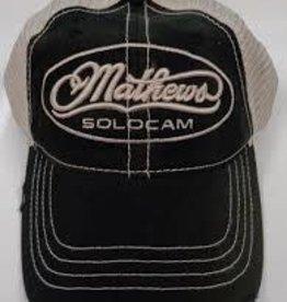Mathews Black / Camo Mathews Hat