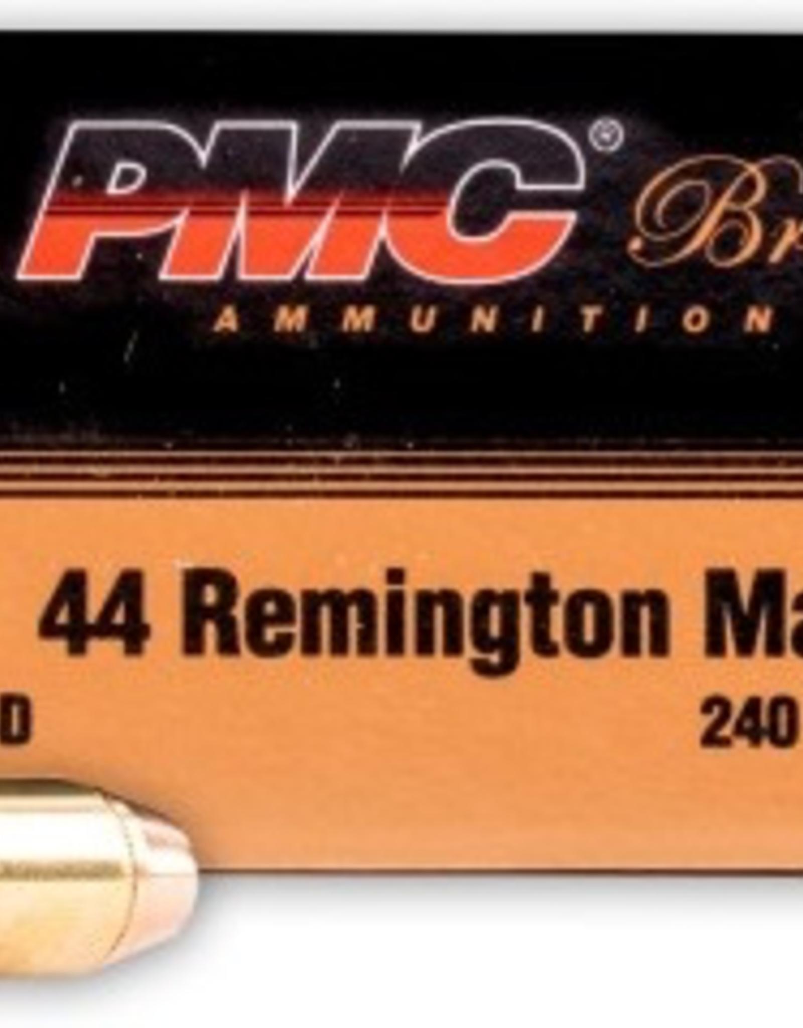 PMC 44 REM MAGNUM 240GR TCSP 25 ROUNDS