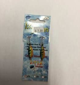 Wahoo Fishing Excitement Ice Shinner Spoon 1/16 PGR