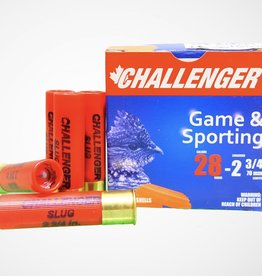 "Challenger Game & Sporting 28 GA 2 3/4"" #8"