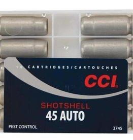 CCI Shotshell 45 Auto 1/3 oz #9