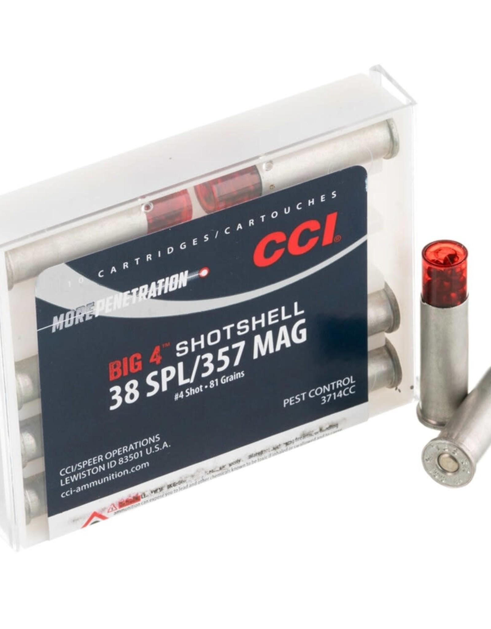 CCI 38SPL/357 MAG #4 Shot