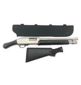 "Churchill Pump 12 GA 15"" SS/SYN Shotgun"