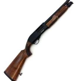 "Churchill Pump 12 Ga 3"" 12.6"" Wood Stock"