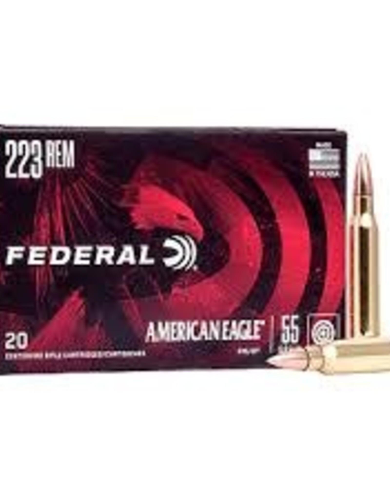 Federal American Eagle 223 FMJBT 55 GR