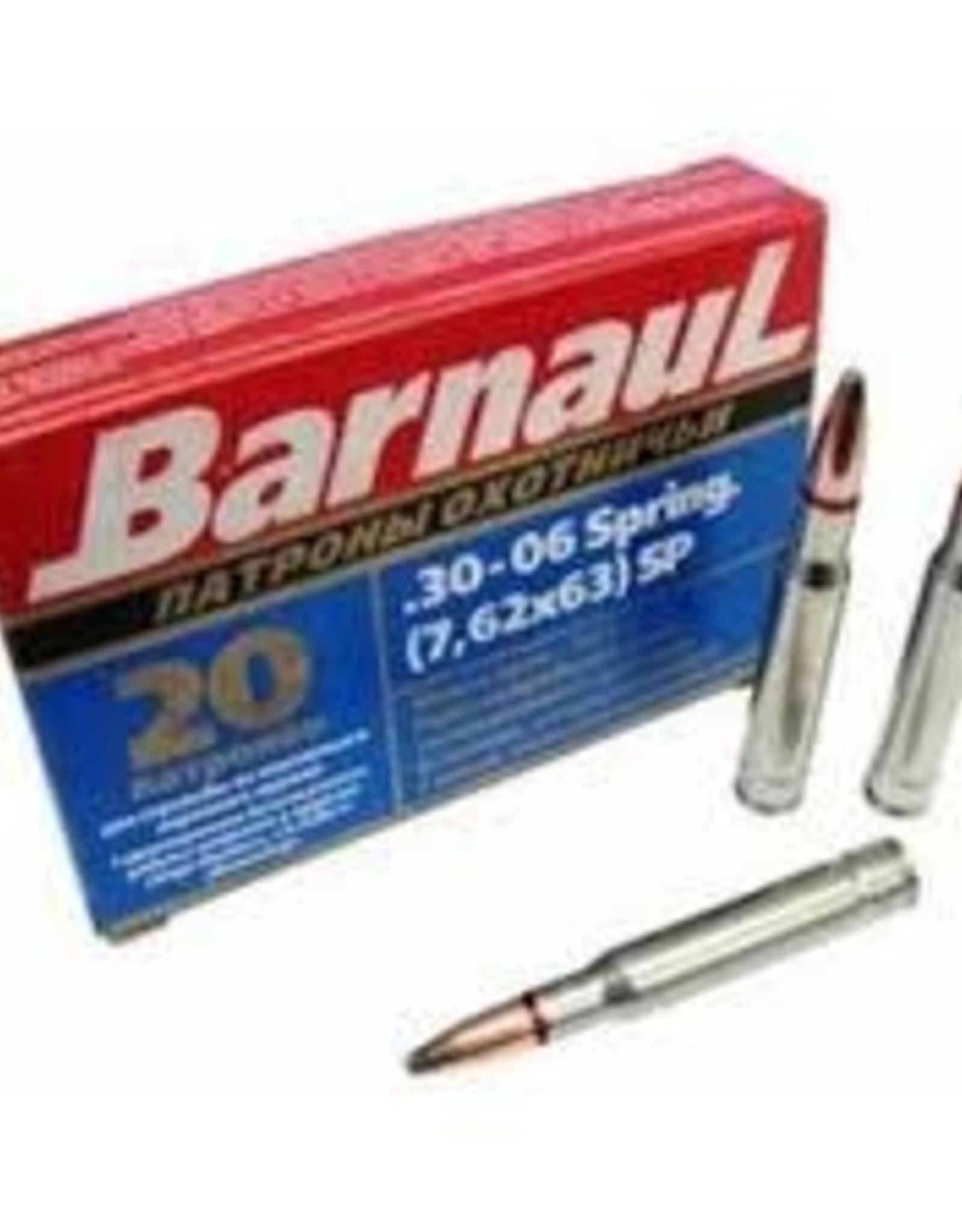 Barnaul 30-06 Spring 168 Gr SP Non Corrosive