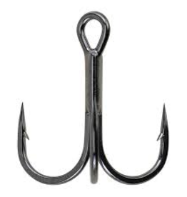 Berkley Treble Hook, Sz 4, Black Nickel