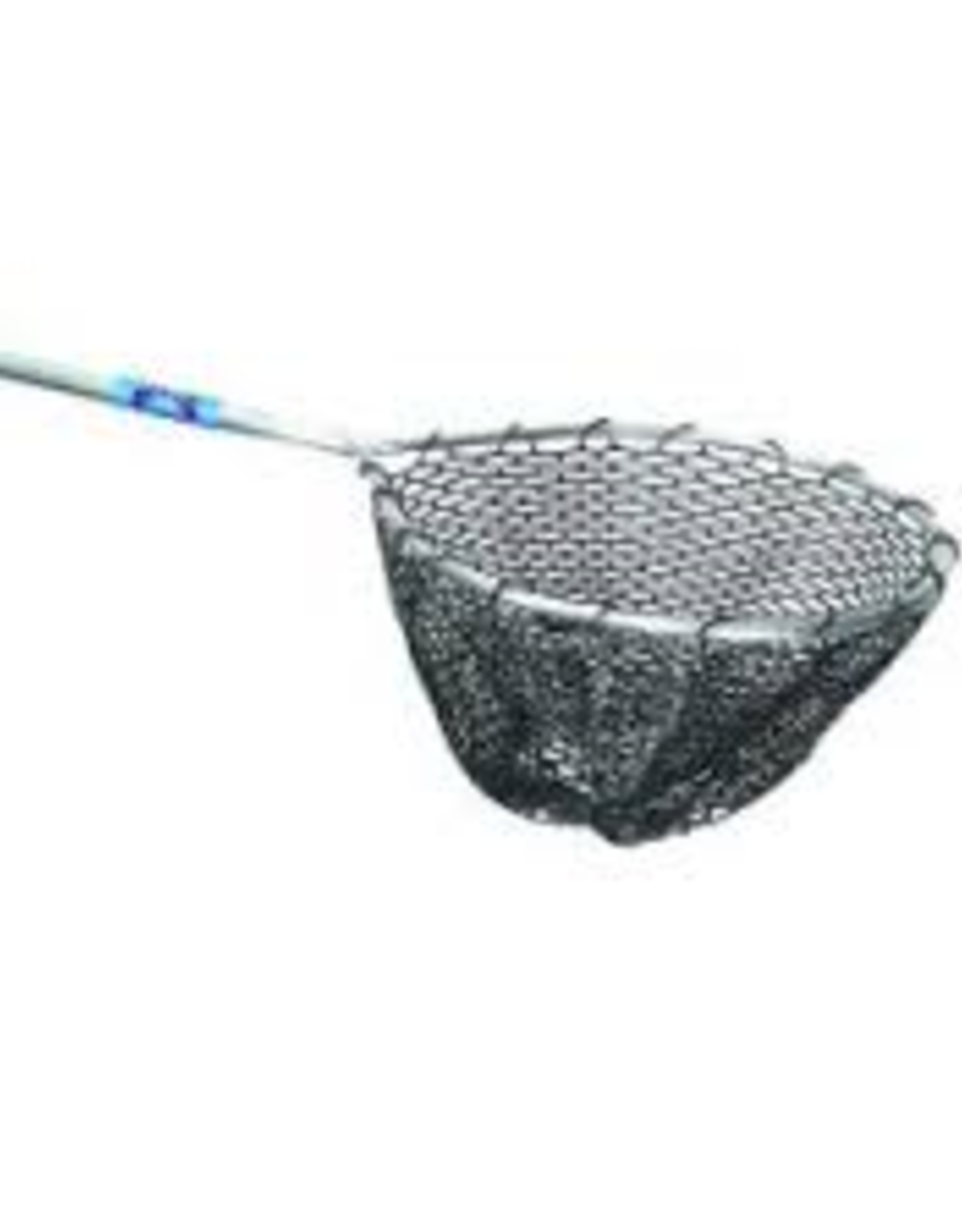 "Ranger 18""x18"" Black Rubber 36"" Handle Dip Net"