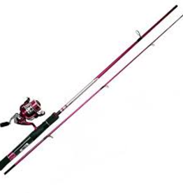Quantum 33 Spinning Combo Pink 6'