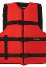 Onyx Adult Oversize Life Jacket Red