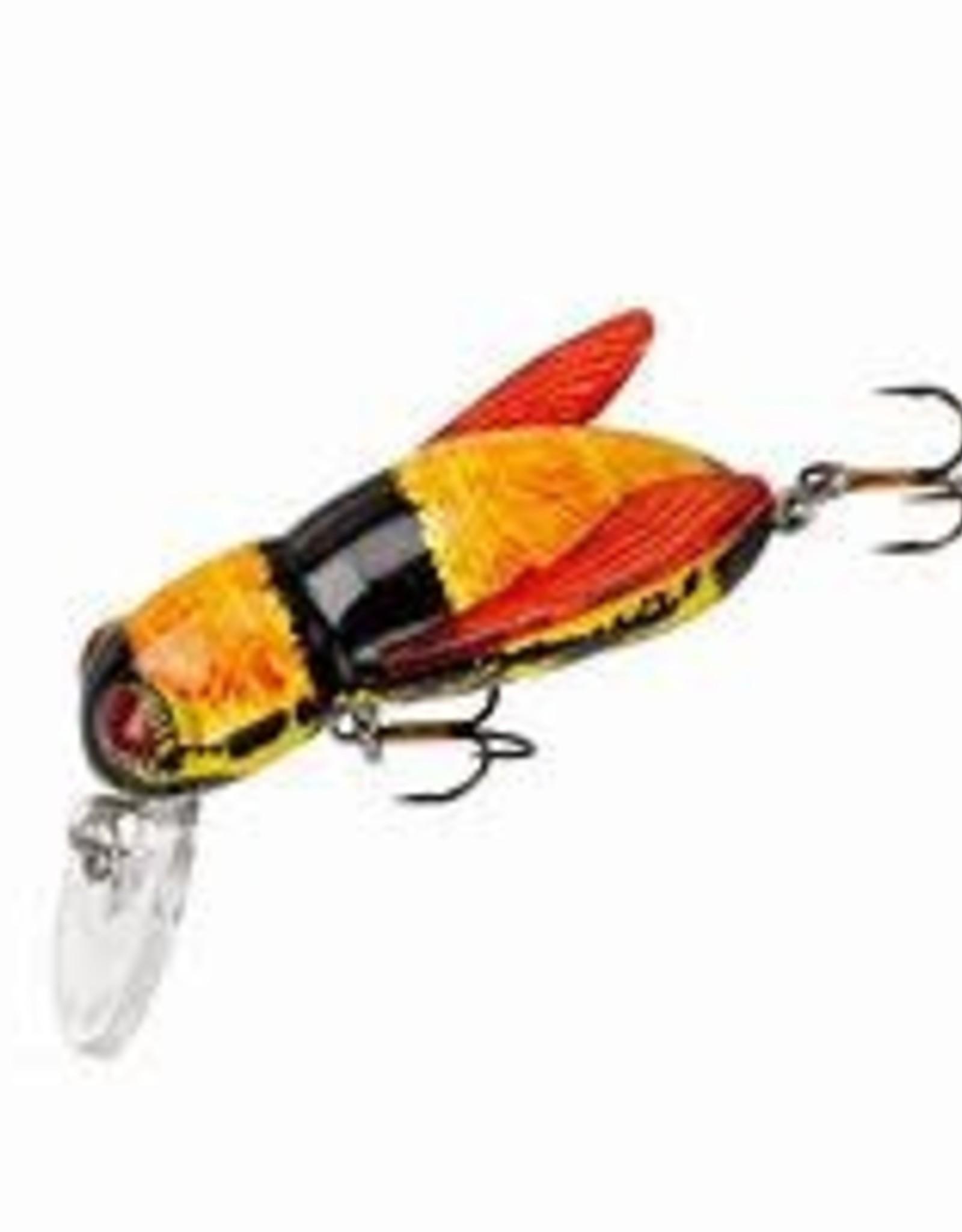 "Rebel 1/2"", 7/64 oz, Bumble Bee, Floating Rebel F7410 Bumble Bug Crankbait, 1"