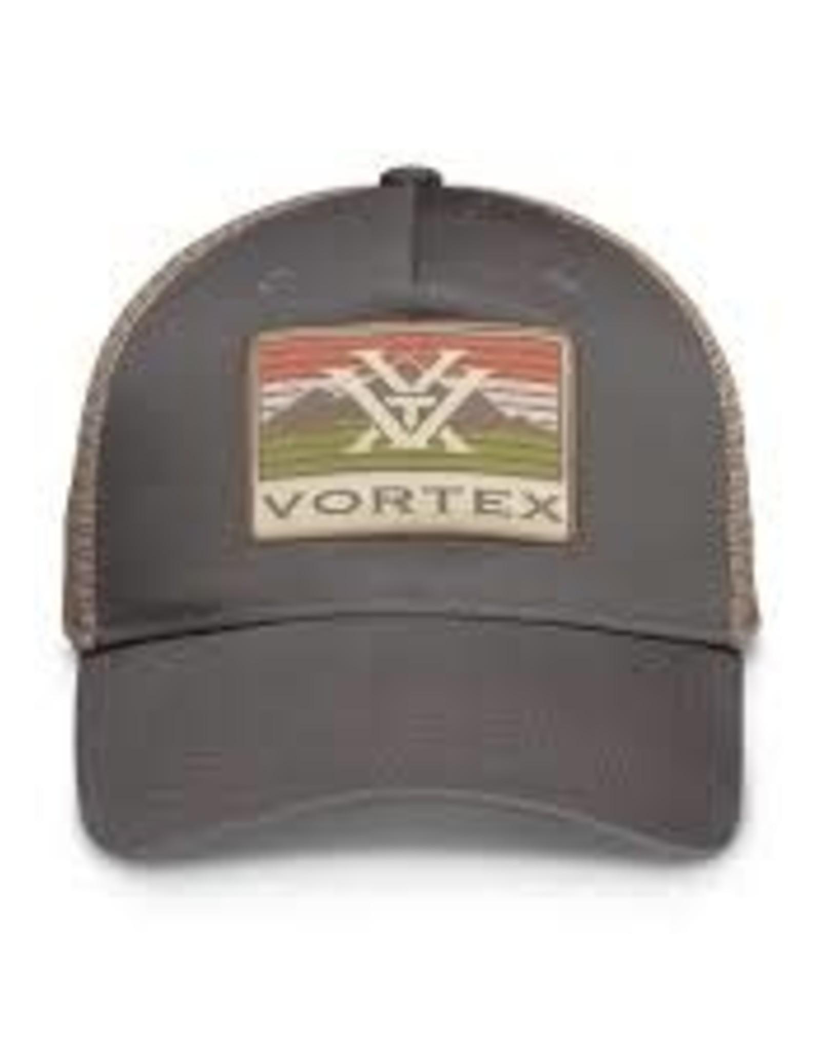 Vortex Grey Mountain Patch Vortex Hat