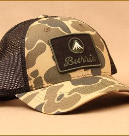 Burris Burris Mesh Hat Black/Tan/ Cloud Camo
