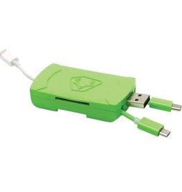 HME 4-IN-1 SD & Micro SD Card Reader