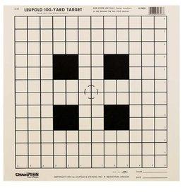 Champion Leupold 100-Yard Target 12 Pack