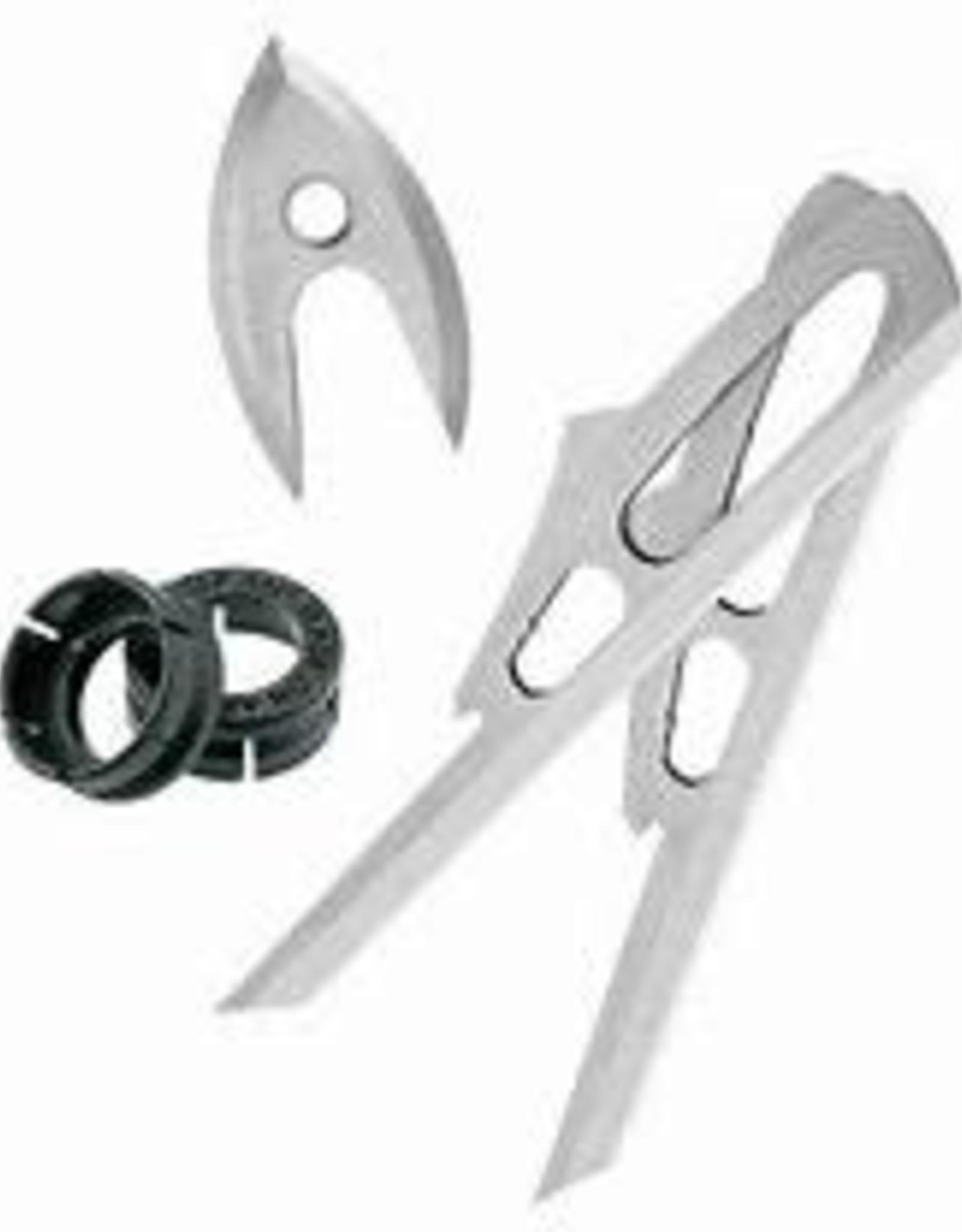 Rage 2 Blade SC & Chisel Tip SC Replacement Blades/Screws/Shock Collars