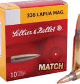 Sellier & Bellot 338 Lapua Mag HPBT 250 Gr