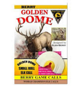 Berry Game Calls Golden Dome Small Bull Elk Call