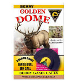 Berry Game Calls Golden Dome Large Bull Elk Call