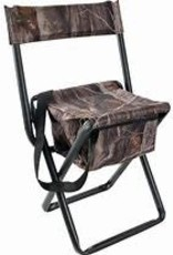 Allen Vanish Folding Stool With Back