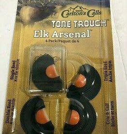 Carlton's Calls Tone Trough Elk Arsenol 4 Pack