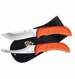Outdoor Edge Jaeger Pair Skinning & Gutting Knife Combo with Sheath
