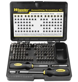 Wheeler Engineering Professional Gunsmithing Screwdriver Set
