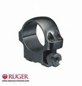 """Ruger Scope Mount Rings, 1"""" and 32mm, Low, Blue"""
