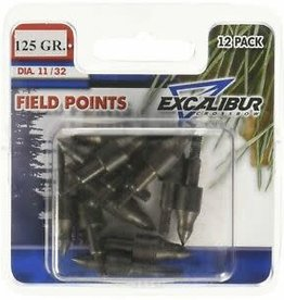 Excalibur Field Points, 21/64, 125 gr. (Package of 12)