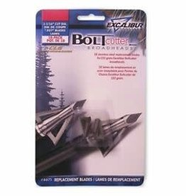"Excalibur Bolt Cutter Broadhead 150 GR 1 1/16"" Replacement Blades 18 Pack"
